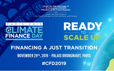 Retour sur Climate Finance Day 2019